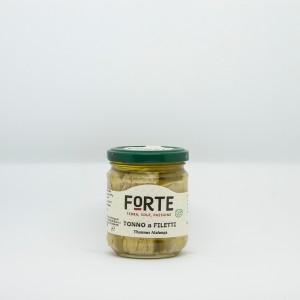 Tonno a Filetti alalunga in olio evo 240 g